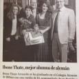 Foto hoy en el DEIA de una Alumni, muy pero que muy reciente… Enhorabuena a ella!!
